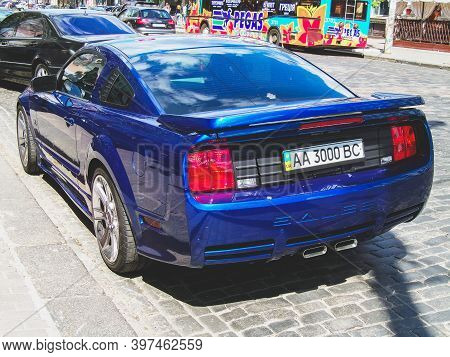 Kiev, Ukraine - May 14, 2011: Ford Mustang Saleen S281 Supercharged In The City