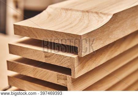 Solid Oak Joinery Product. Oak Plinth Block