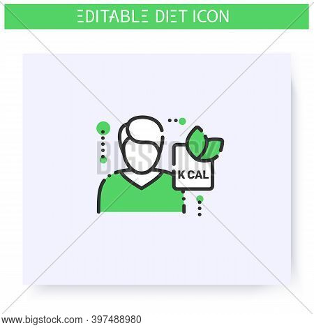 Nutritionist Line Icon.doctor, Nutrition Consultant.healthy Eating. Dietary Nutrition.diet. Weight L