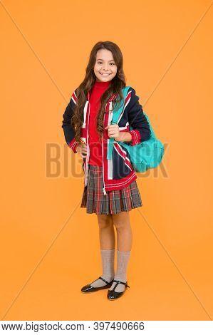 English Student. Education And Upbringing. English Kid Backpack. British Educational Program. Great