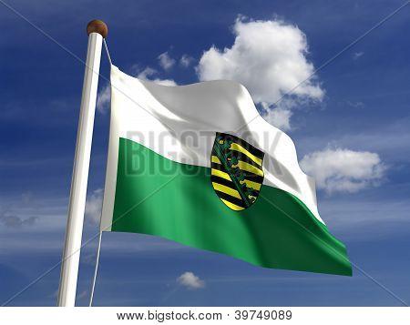 Saxony Flag Germany