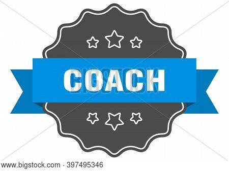 Coach Blue Label. Coach Isolated Seal. Coach
