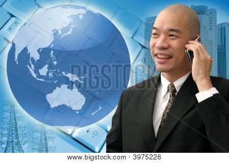 Chinese Business Man