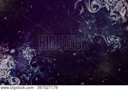 Purple smoky art abstract background