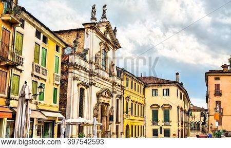 Church Of Santa Maria Dei Servi In Vicenza, Italy