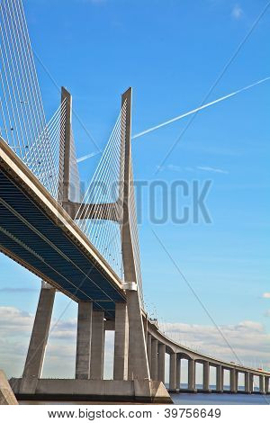 bridge in Lisbon Portugal