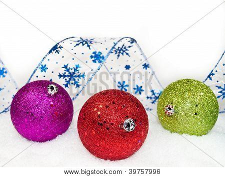 Colored Ornaments