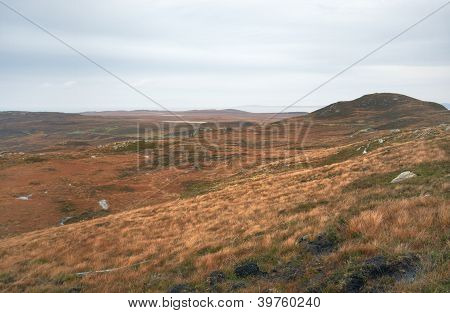Fantastic Colored Scottish Landscape