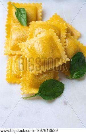 Traditional Italian Pasta Ravioli