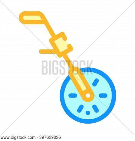 Odometry Equipment Color Icon Vector Illustration Flat