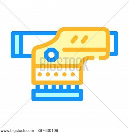 Optical Level Gadget Color Icon Vector Illustration