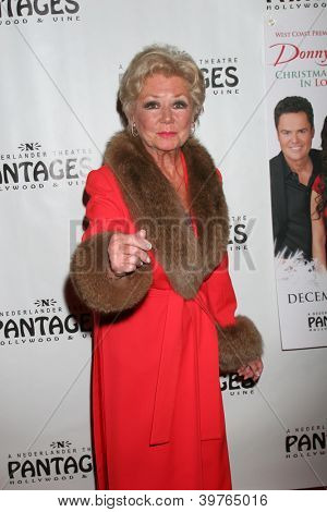 LOS ANGELES - DEC 4:  Mitzi Gaynor arrives to