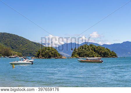 The Big Tropical Island Ilha Grande, Angra Dos Reis Brazil.