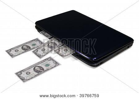 Electronic Commerce. Laptop