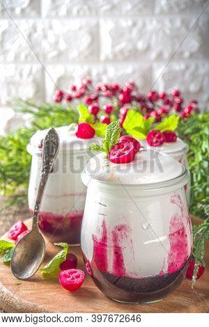 Cranberry Layered Dessert