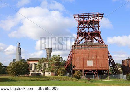 Gelsenkirchen, Germany. Industrial Heritage Of Ruhr Region. Zeche Consolidation - Former Coal Mine.