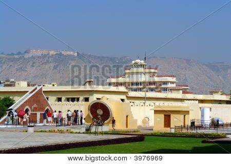Royal Astronomical Observatory In Jaipur