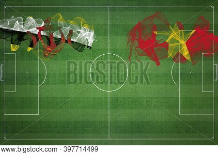 Brunei Vs Vietnam Soccer Match, National Colors, National Flags, Soccer Field, Football Game, Compet