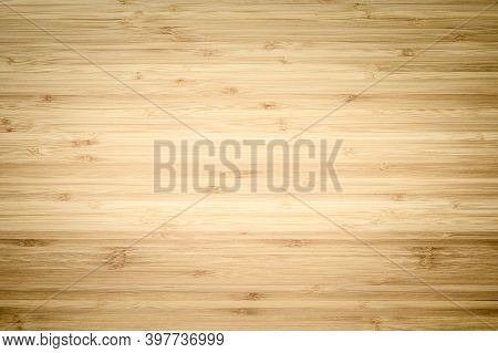 Old Wood Texture. Vintage Wood Background With Vignetting Effect. Focusing In The Center Of The Fram