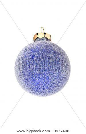 Iced Blue Ball