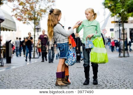 Children Are Shopping