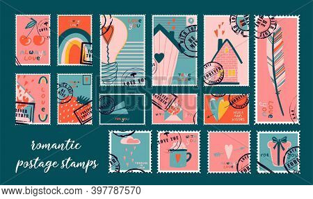 Abstract Template On Colorful Backdrop. Greeting Card Template. Vector, Illustration. Beautiful Spri