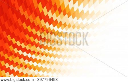 Red Orange Abstract Technology Background. Red Geometric Background Design. Background Abstract For