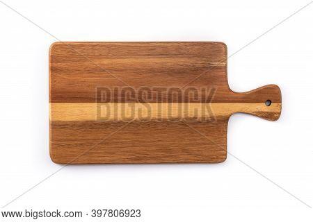 Cutting Board Mockup Isolated On White Background