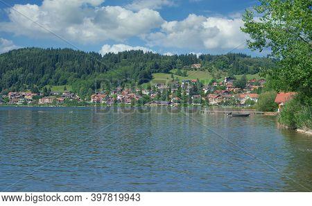 Health Resort Of Hopfen Am See In Allgau,bavaria,germany