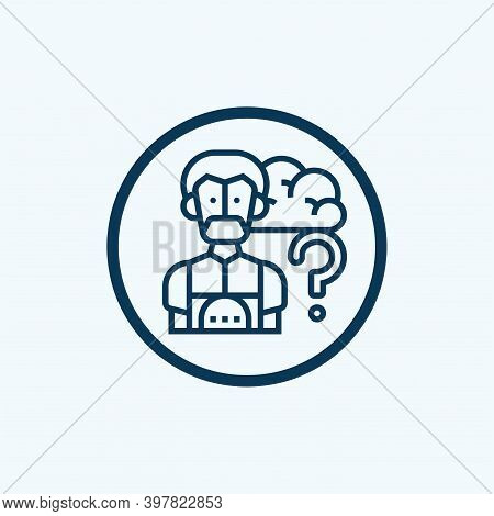 Robot Icon Isolated On White Background From Education Collection. Robot Icon Trendy And Modern Robo