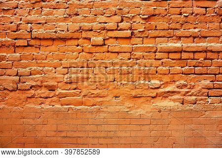 Abstract Coarse Brick Texture For Vintage And Retro Background
