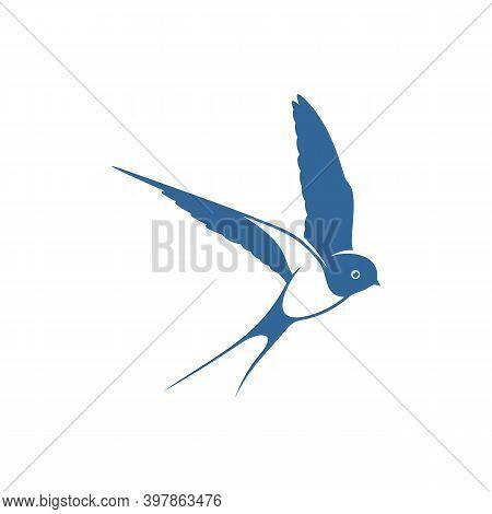 Swallow Logo Vector Template, Creative Swallow Logo Design Concepts, Icon Symbol, Illustration