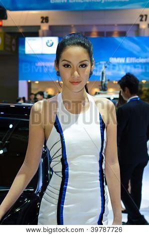 Female Presenter Of BMW