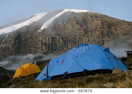 Kilimanjaro 018 Karango Camp Tent