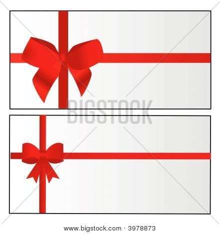 Red Bow Fully Editable Vector Illustration