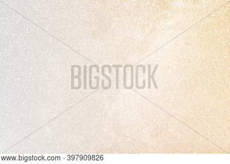 White and gold glittery pattern background