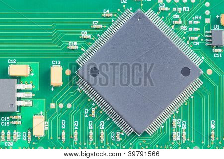 Surface Mount Technology (smt) Microchip
