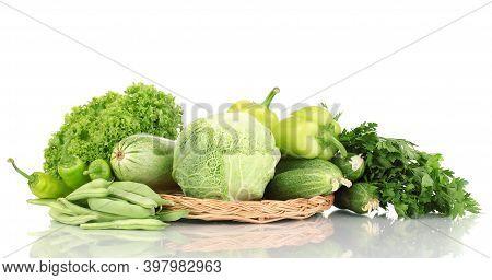 Clean Diet Cabbage Vegetables Background Vegetables Top View, Vegetables, Food Concept.