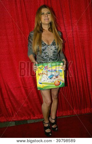 UNIVERSAL CITY - DEC. 4: Lisa Panagos arrives at publicist Mike Arnoldi's birthday celebration & Britticares Toy Drive for Children's Hospital on Dec. 4, 2012 in Universal City, CA.