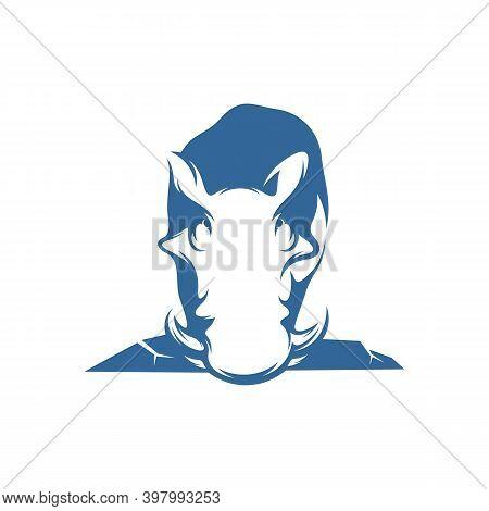 Wild Boar Logo Vector Template, Creative Wild Boar Logo Design Concepts, Icon Symbol, Illustration
