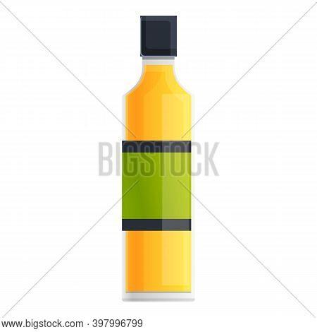 Canola Fine Oil Icon. Cartoon Of Canola Fine Oil Vector Icon For Web Design Isolated On White Backgr