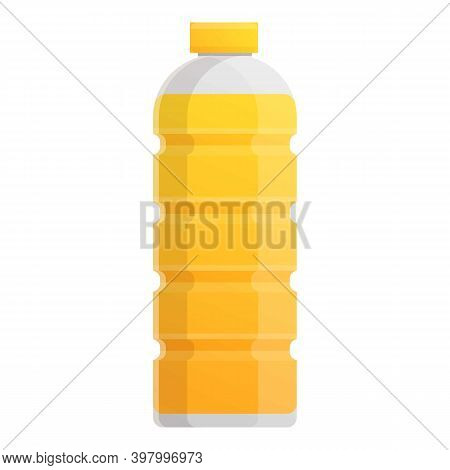 Canola Oil Bottle Shop Icon. Cartoon Of Canola Oil Bottle Shop Vector Icon For Web Design Isolated O