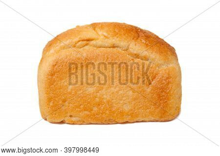Traditional Homemade Bread Isolated On A White Background