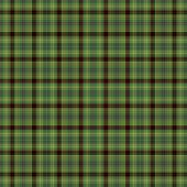 Seamless plaid in shades of green with red accents poster