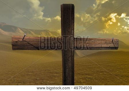 The Cross End Two Nails