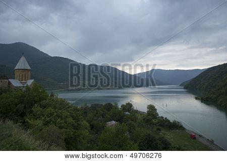 Caucasus mountains, Ananuri