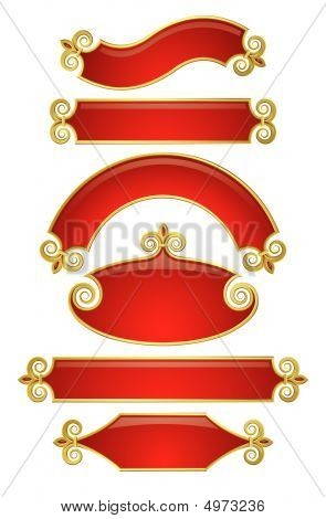 Red-gold Banners 2