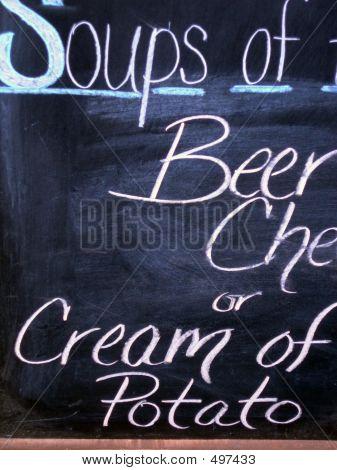 Soup Sign