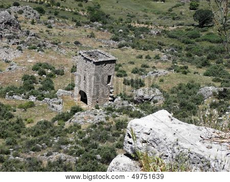 Watchtower in ancient Sillyon
