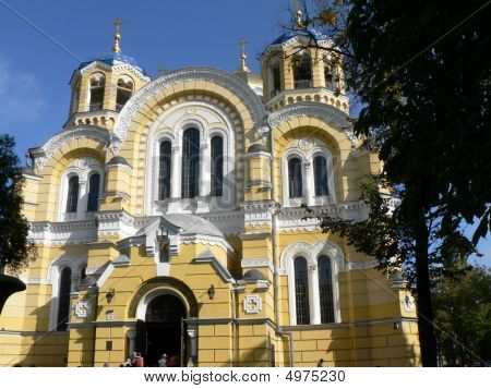 Orthodox Cathedral Of St Volodymyer